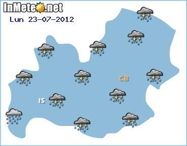 Allerta Meteo Molise Lunedì 23 Luglio 2012