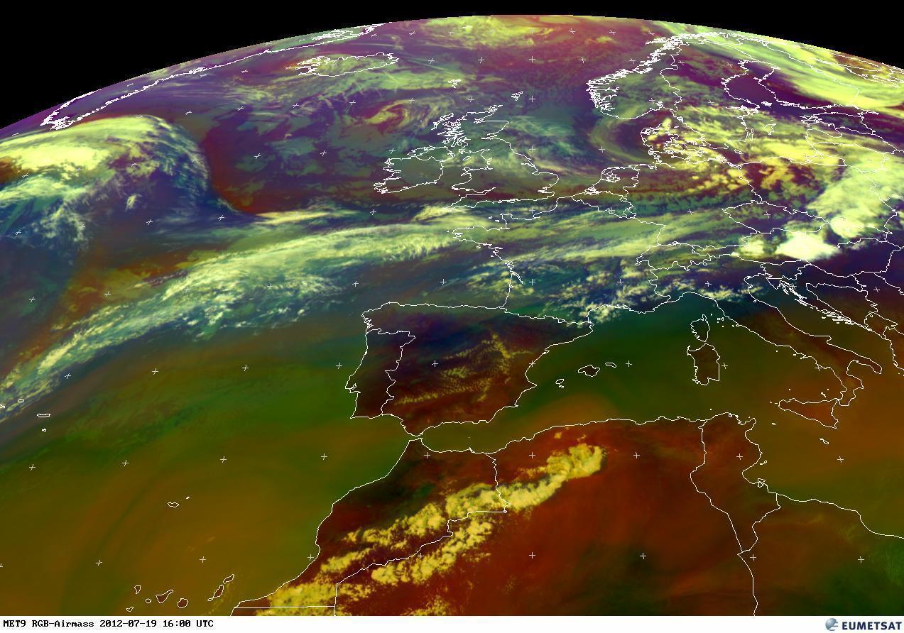 RGB AIR MASS, ultime giornate di stabilità in Italia