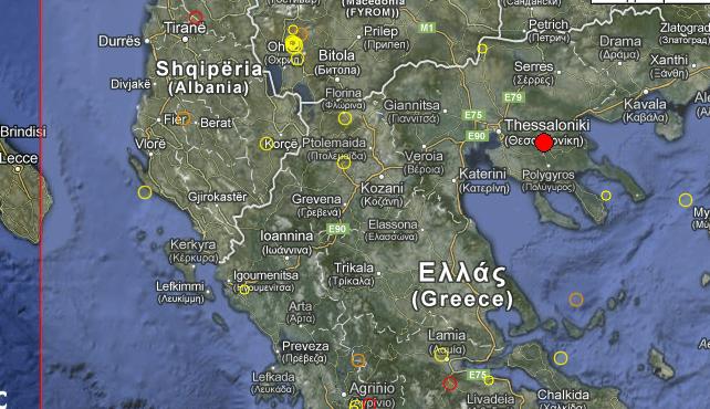 Terremoto Grecia 10 Luglio 2012