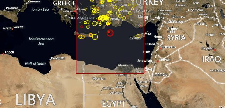 Forte Terremoto fra Grecia e Turchia - 9 Luglio 2012