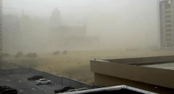 Tempesta di Sabbia Dubai 9 Luglio 2012