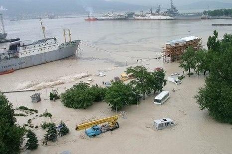 Alluvione Mar Nero Russia 7 Luglio 2012
