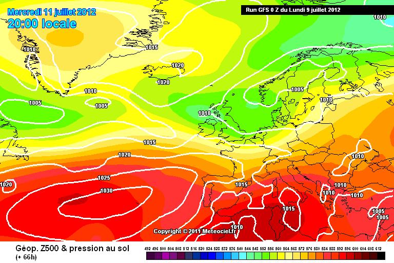 Caldo intenso e alta pressione al Centrosud per tutta la settimana