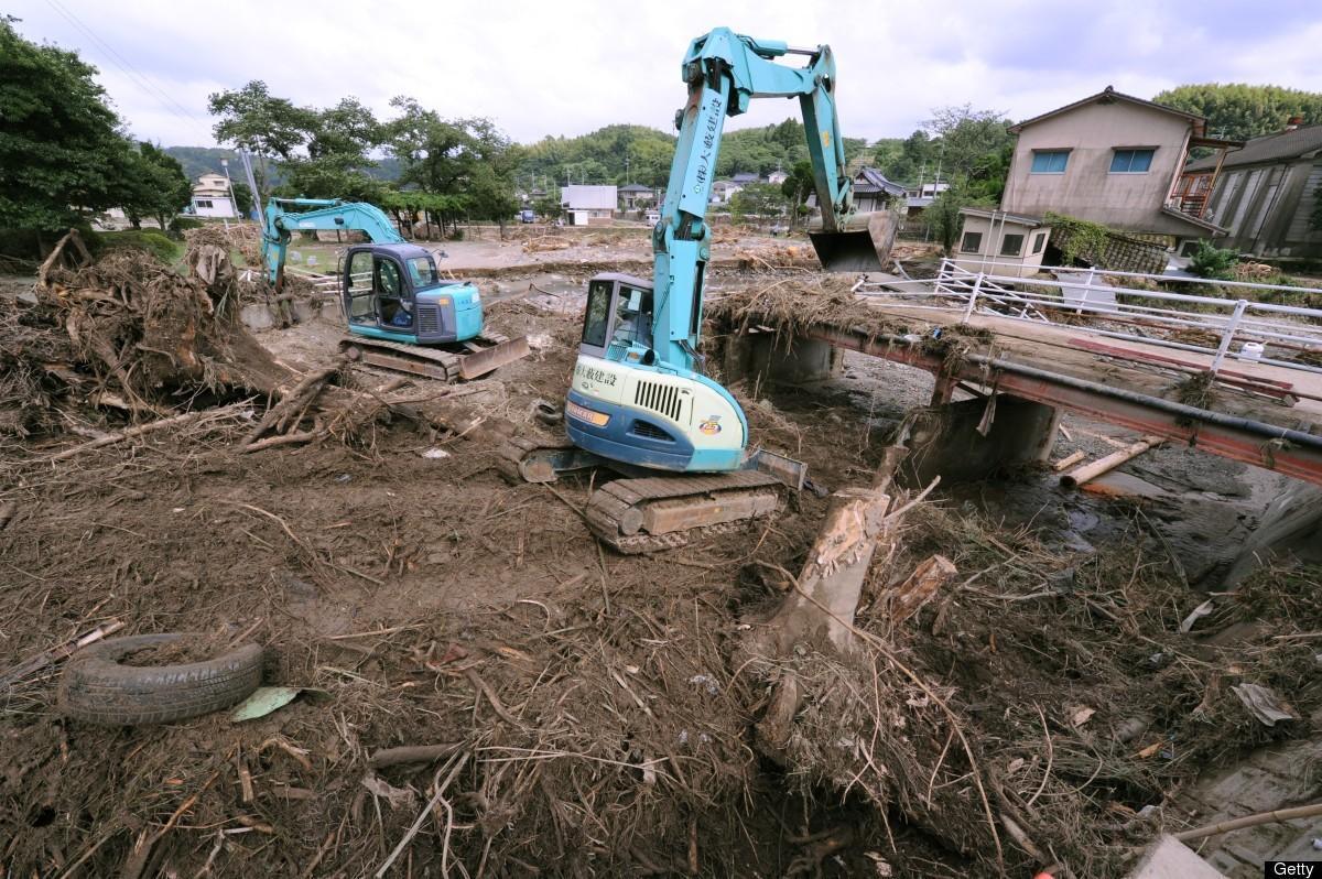 Alluvione Giappone Luglio 2012