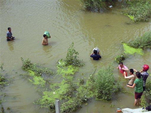Alluvione Cina Agosto 2012