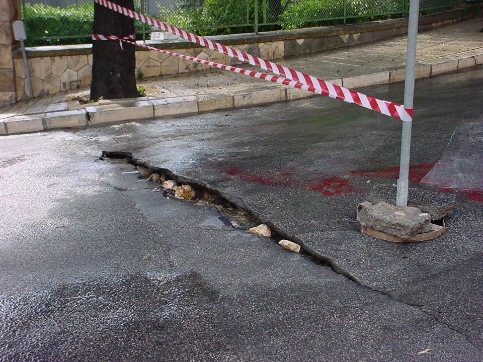Bloccata la strada a Grottaglie a causa dei disagi meteorologici