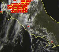 Immagine Satellitare (canale del Visibile) per le ore 12 (ora locale)