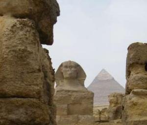 Le grandi piramidi egiziane e la Sfinge (Benjamin P.Horton)