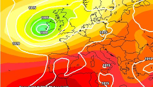 Meteo 3 Agosto - Situazione