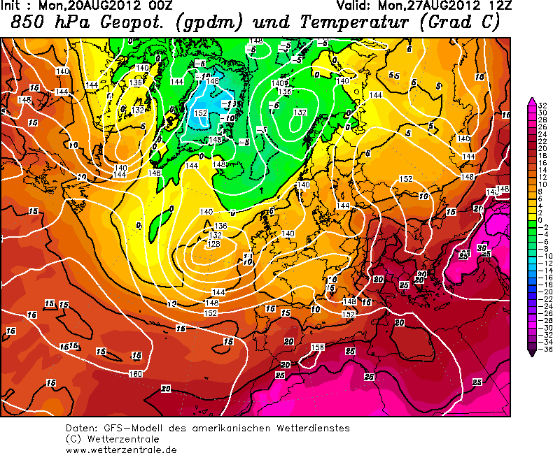 Gran caldo sull'Italia: un cambio nel prossimo week-end?