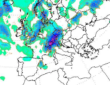 Ultime weekend: forti temporali in arrivo, allerta meteo per diverse regioni del Nord e del Centro