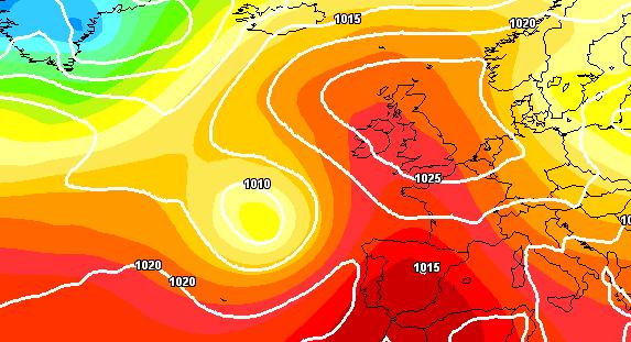 Forte ondata di caldo in Spagna