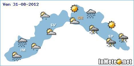 Liguria Maltempo nelle prossime ore