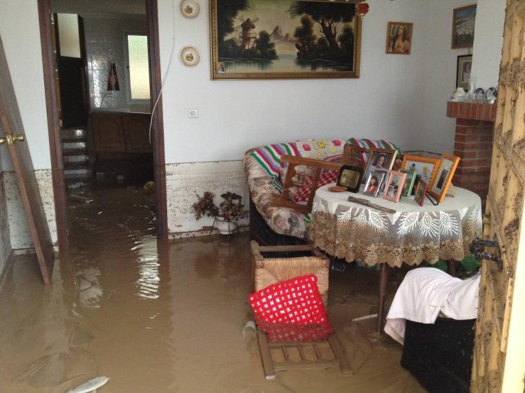 Alluvione Malaga Spagna