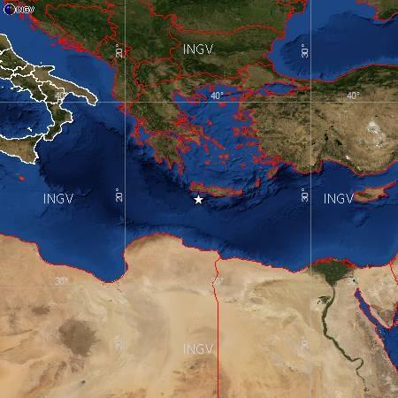 Terremoto Oggi Creta 12 Settembre 2012