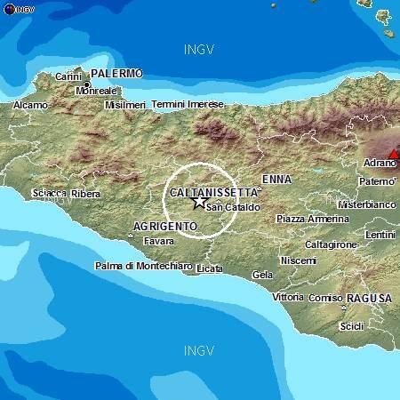 Terremoto oggi 11 Settembre 2012 , Sisma Sicilia