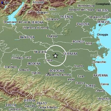 Terremoto emilia romagna oggi 8 settembre 2012 for Oggi in romagna