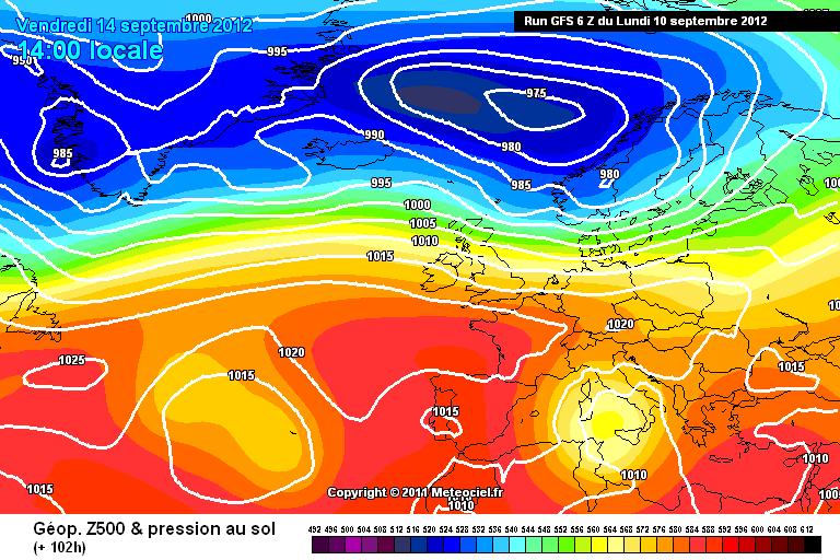 Probabile fase di Maltempo prolungato al Centro-Sud a partire da metà settimana