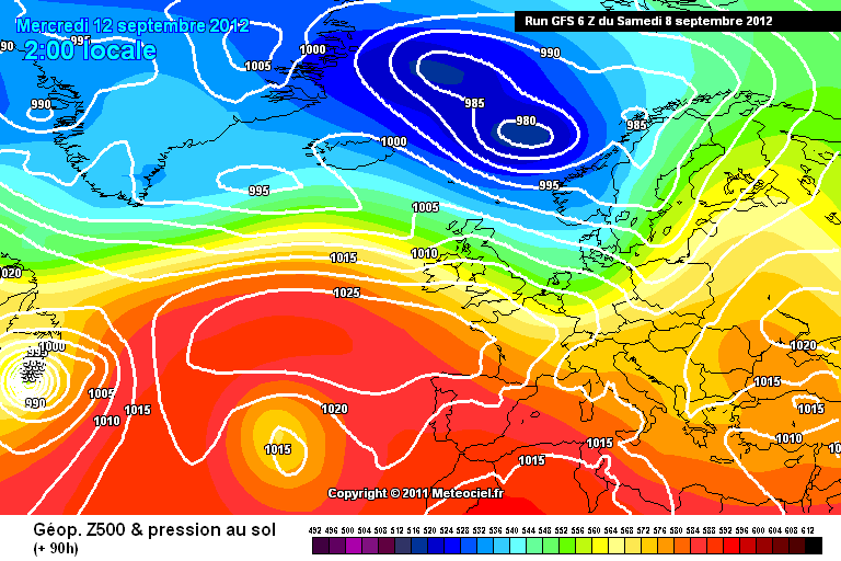 Previsioni Meteo: guasto del tempo nella prossima settimana. Fra 12-13 Settembre probabile perturbazione in arrivo sulla nostra penisola.