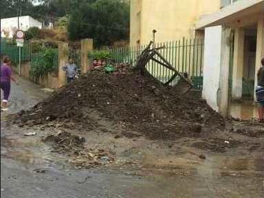 Alluvione Lipari: il video del disastroso evento alluvionale del 15 Settembre 2012, fiumi di fango per le strade.