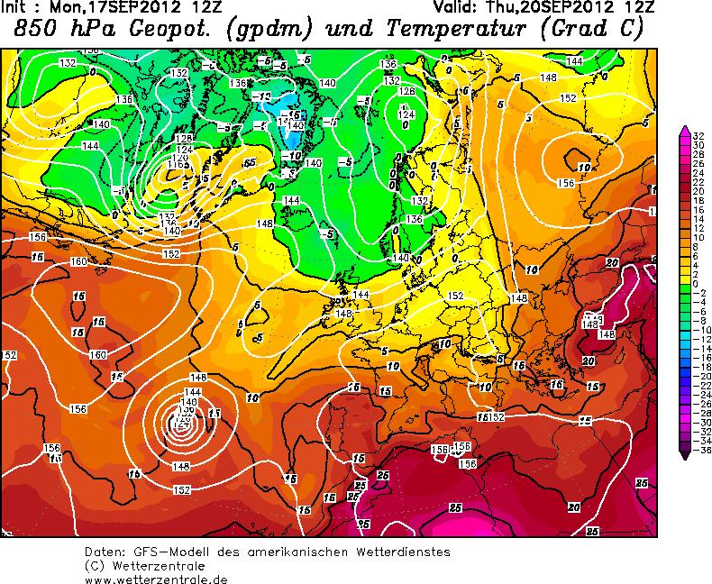 Maltempo in arrivo da Mercoledì sull'Italia, caleranno anche le temperature