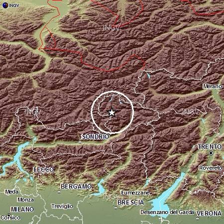 Terremoto in Lombardia oggi 20 Settembre 2012
