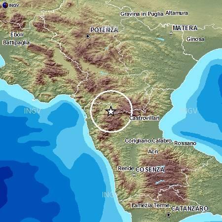 Ingv: terremoto oggi 25 Settembre 2012