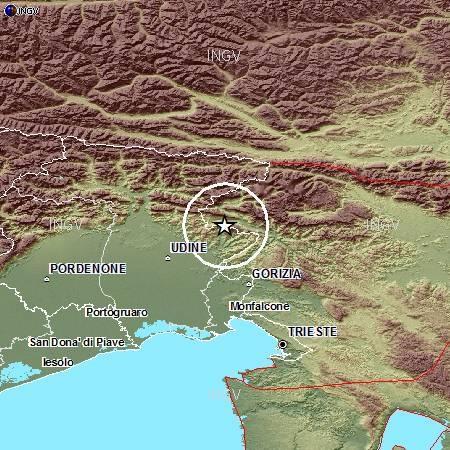 Terremoto Friuli, Udine 3 Settembre 2012