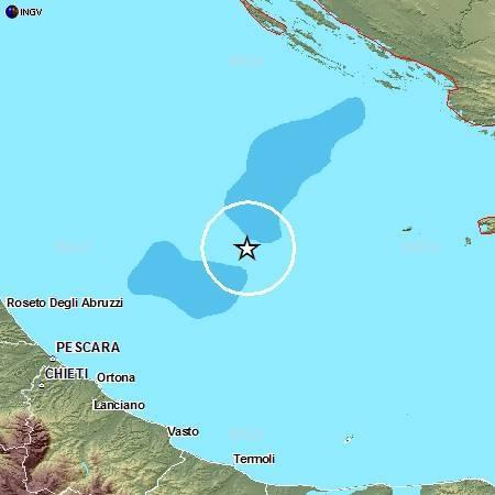 Ingv: terremoto oggi 27 Settembre 2012