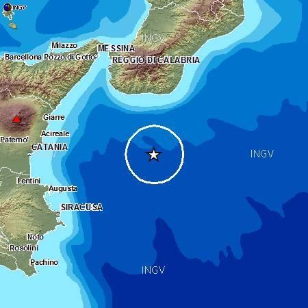Terremoto oggi Giovedì 6 Settembre 2012