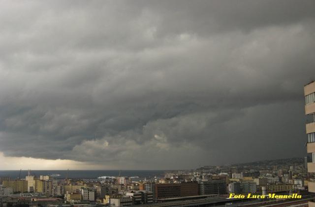 Napoli allerta meteo 15-16 Ottobre 2012