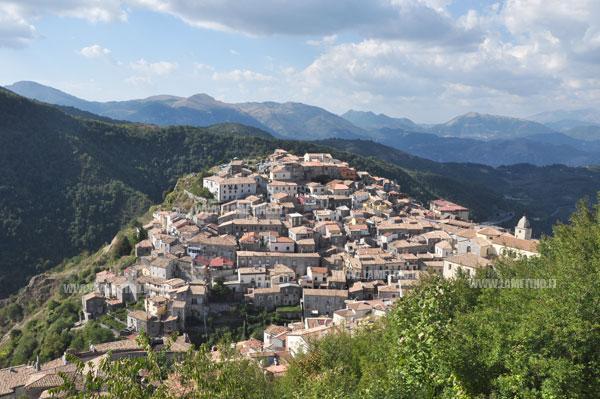 Sciame sismico nel Pollino, parla L'AFI (nella foto Mormanno). F. Bevilacqua