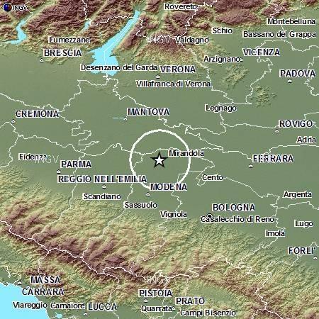 Terremoto Oggi Emilia 9 Ottobre 2012