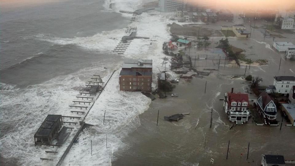 Inondazioni su diverse zone di Brooklyn, Manhattan e Atlantic City