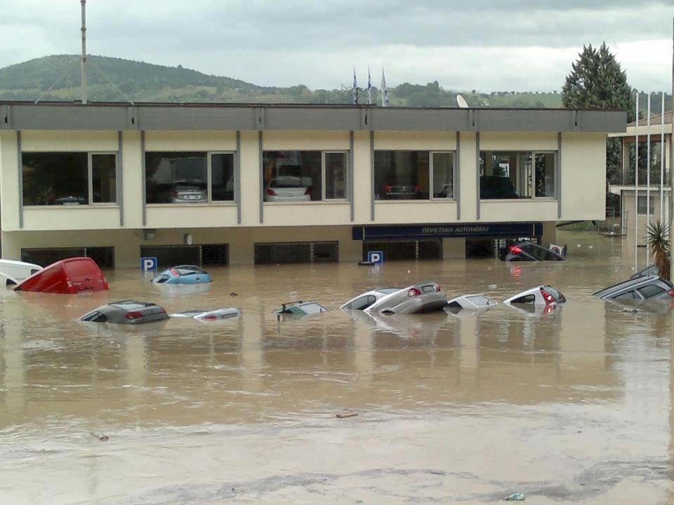 alluvione umbria