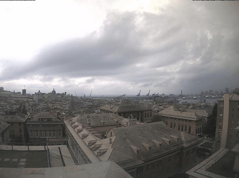 Allerta Meteo Liguria - Bollettino della Protezione Civile ARPAL - Webcam Genova Tursi