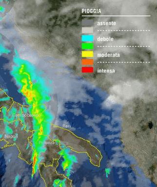 Allerta meteo puglia. Intenso e immenso sistema temporalesco sulla Regione 28 Novembre 2012