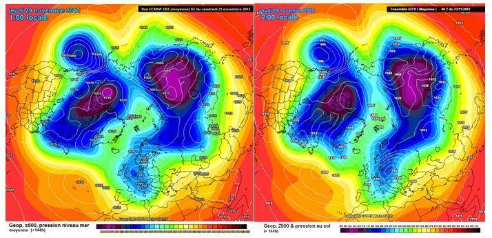 Previsioni e tendenza meteo ultima metà di Novembre