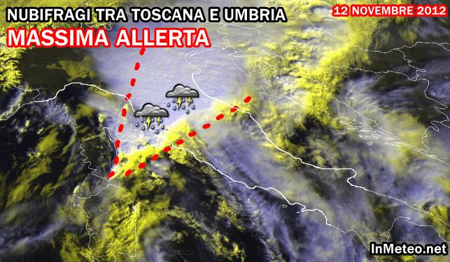 Maltempo Umbria 12 Novembre 2012