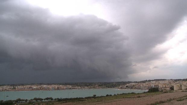 cella temporalesca su Malta