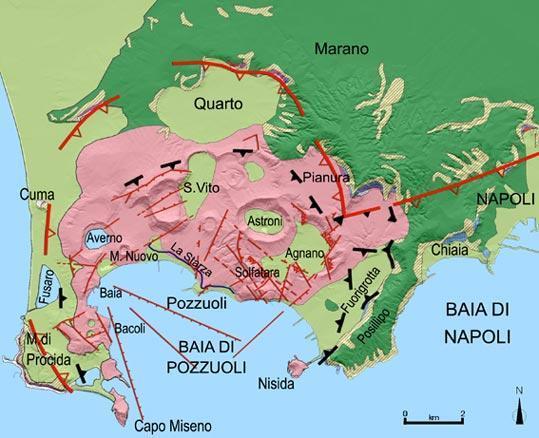 Convocata Commissione Grandi rischi per Campi Flegrei - 23 Novembre 2012