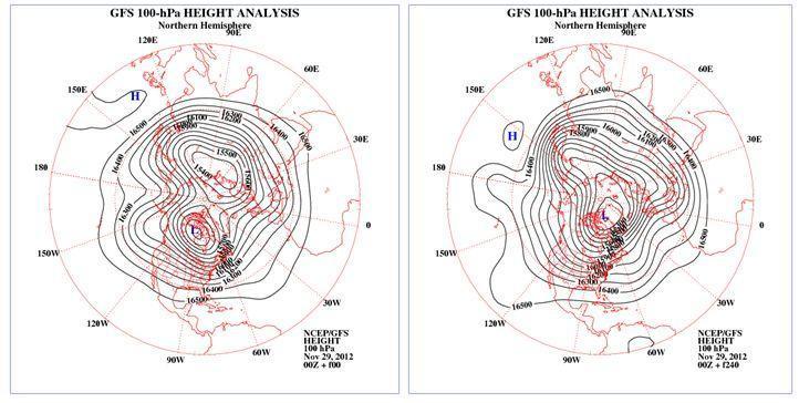 Previsioni meteo prima metà di Dicembre: Artico e neve?