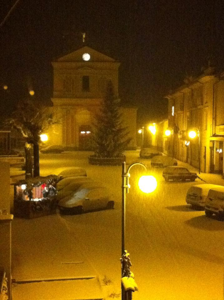 Neve in Piemonte - Ceres (TO)