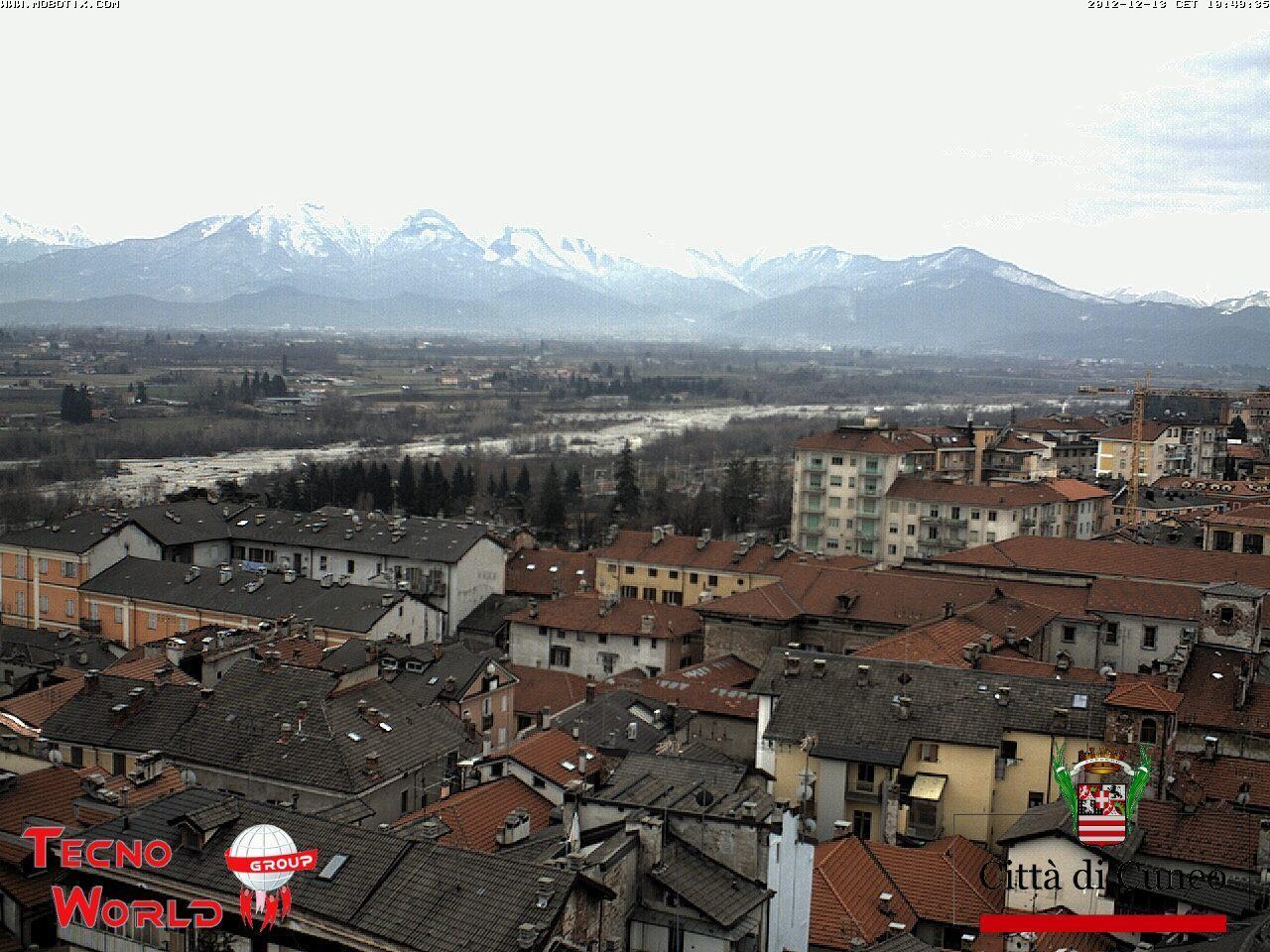Piemonte, 13 Dicembre 2012: neve in pianura