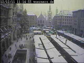 Dicembre 2012 Europa Centro-Orientale sotto la neve, Monaco di Baviera
