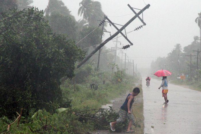 Filippine tifone causa 230 vittime