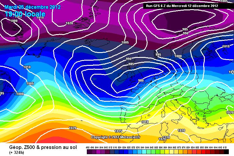 Meteo Natale 2012, tendenza e previsioni del tempo