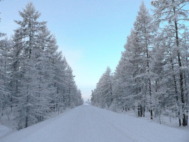 Russia: -59°C ad Oymyakon in Siberia