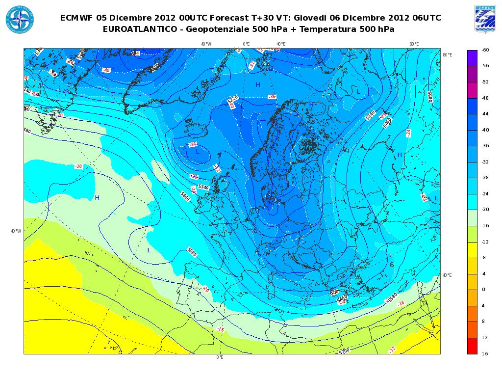 Previsioni Meteo Aeronautica Militare prossimi giorni freddo, neve e vento