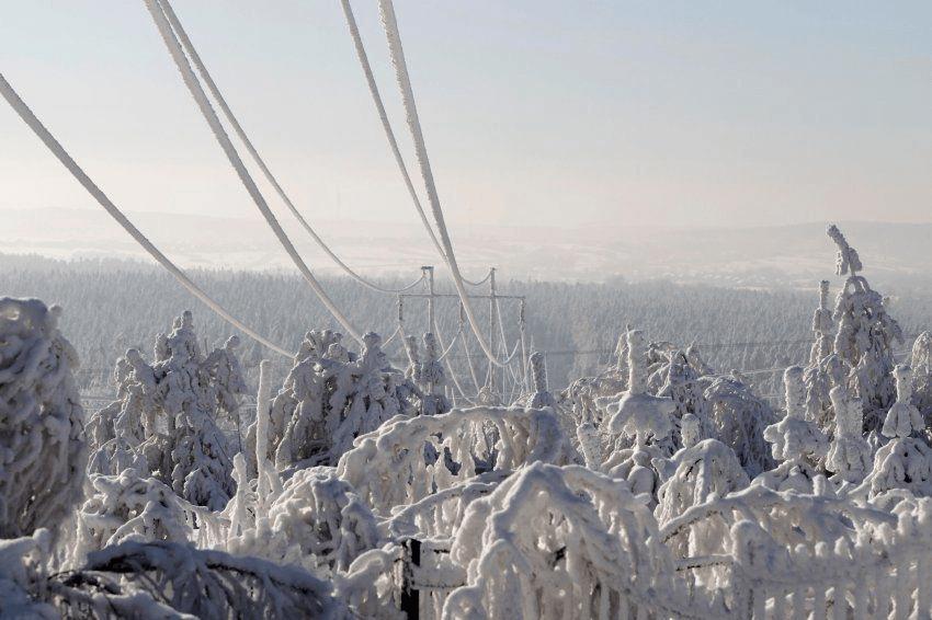 Scandinavia,-30°C